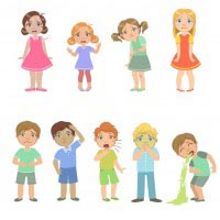 Image of Children Suffering with Skin Allergies | Harley Street Dermatology Clinic