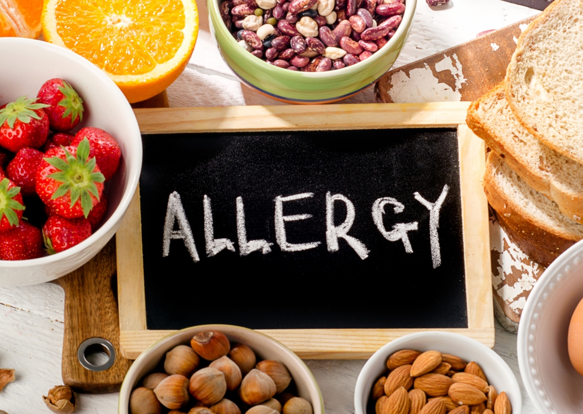 Risk of Food Allergies on Your Skin | Harley Street Dermatology Clinic